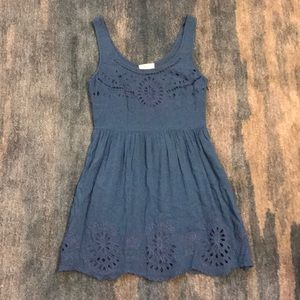 GORGEOUS Blue Pins and Needles Dress